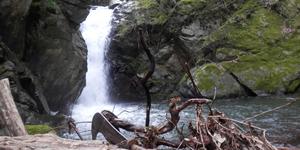 Cascata sul torrente Pistarina